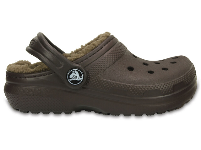 Crocs Classic Lined - Sandales Enfant - marron
